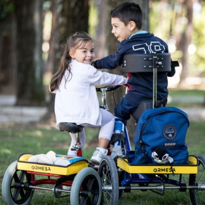 Triciclo 207 sport parco