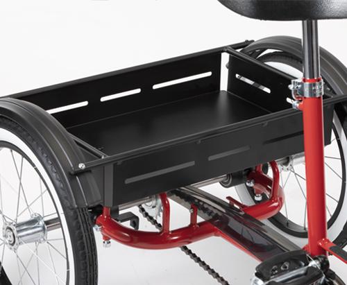 Il cestino del Triciclo 207 di Ormesa