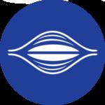 Icona muscoli blu